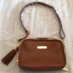 NWT brown Joy & Iman cross body purse bag New!!!